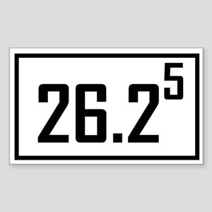 Marathon 5 Rectangle Sticker